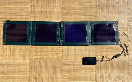 折り畳み式ソーラーパネルと蓄電池【pocketGrid】