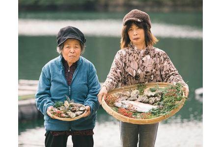 【冷蔵】海鮮詰合せBセット タイ1匹(約1kg)、サザエ約600g、カキ約1kg/鯛 牡蠣 伊勢志摩