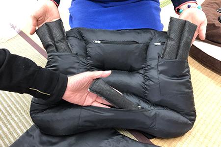 西川・京都オフィスの「近江の炭枕」