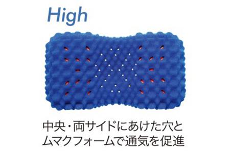 【東京西川】[AiR 3D]ピロー/ハイタイプ(ブルー)【P213SM】