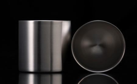 ステンレス製タンブラーグラス プレミアム78mm 2個セット