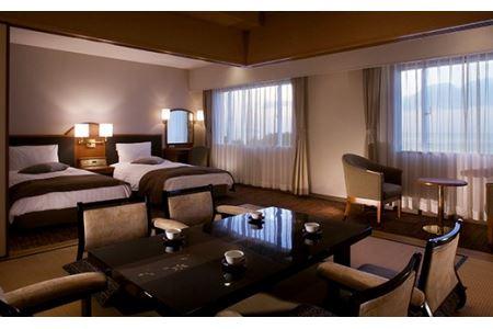 【T-282】今津サンブリッジホテル 高島のめぐみ会席和洋スイート宿泊ペアプラン