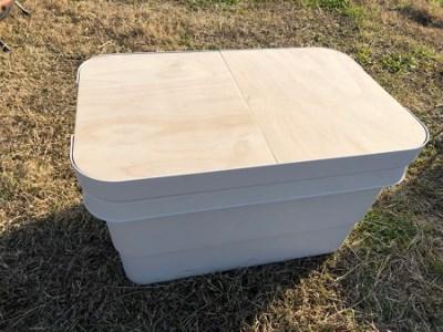 010h03-2 BOX用テーブルトップ(無印BOX用/無塗装)