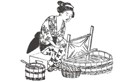 「近江真綿」角真綿作り・手引き体験
