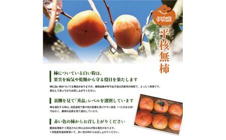 【数量限定】滋賀・伊吹特産ひらたねなし柿(炭酸脱渋)
