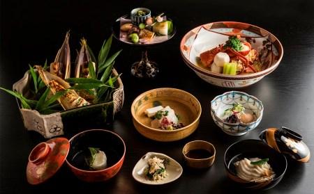 京料理ペアランチ食事券【京都/おいしい/和食/懐石/料亭/デート/記念日/旅行】