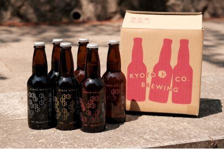 京都発のクラフトビール!3種飲み比べ6本セット〈京都醸造〉