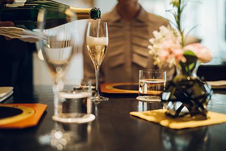 リストランテ ラ・ルーチェ/THE HIRAMATSU 京都 アペリティフ付きディナーコース 2名様(寄附申込の翌月から3年間有効/30組限定)FN-Gourmet290391