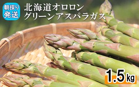 [151]北海道オロロングリーンアスパラガス 1.5kg