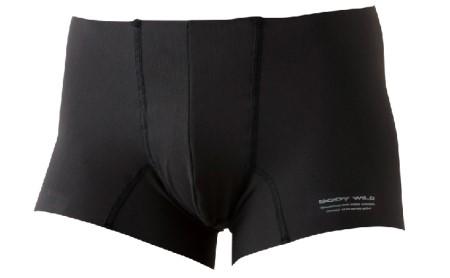 BODYWILD AIRZ ボクサーパンツ LLサイズ 3枚セット(ブラック2枚、ネービーブルー1枚)[ グンゼ GUNZE ]