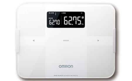 オムロン 体重体組成計 ホワイト