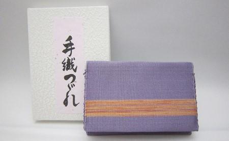 [№5811-0014]手織りつづれ カードケース(紫根染め)