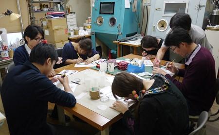 [№5811-0019]サンドブラスト(ガラス工芸)体験教室 ペア