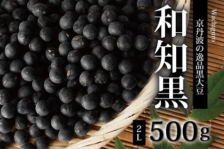 京丹波町和知地区の逸品黒大豆「和知黒」2Lサイズ 500g [010NA003]