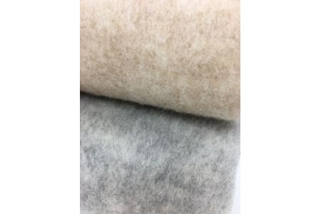【2628-0159】ウール コットン ハーモニー 毛布 シングル ベージュ系