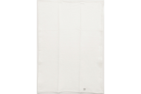 【2628-0718】毛布(毛羽部分綿)シングルサイズ・アイボリー