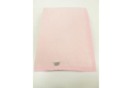 【2628-0719】毛布(毛羽部分綿)シングルサイズ・ピンク