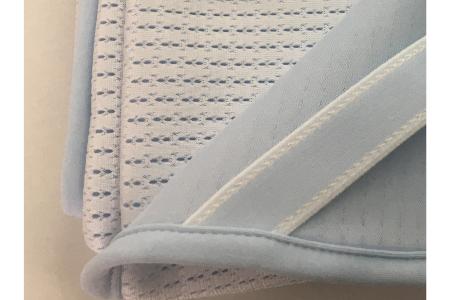 【2628-0755】氷結(R) クール敷きパッド シングル 100×205cm ブルー系