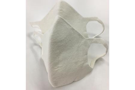 【2628-0759】大津毛織 夏マスク Mサイズ 2枚組 保冷剤装着できる洗って使える和紙3D立体構造