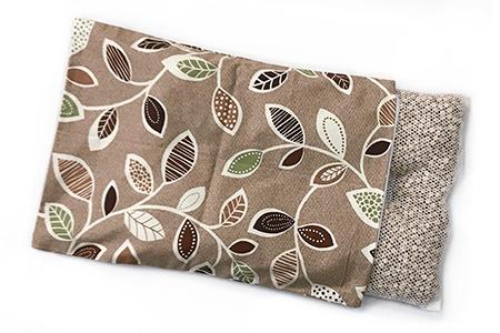 【2628-0886】寝て味わう大自然 ひのき枕 ベージュ 枕カバー付き