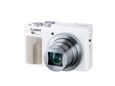 Panasonic  デジタルカメラ LUMIX    DC-TZ95-W 高精細ファインダー&180度チルト対応タッチパネルモニター搭載。 光学30倍ズーム 高倍率コンパクトカメラ