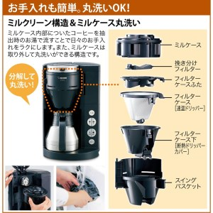 象印コーヒーメーカーECRS40-BA