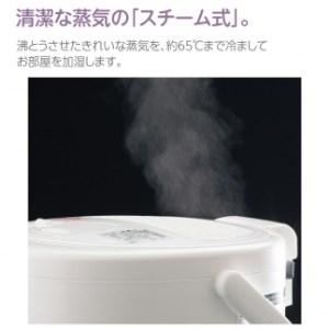 象印 スチーム式加湿器 EE-RR50-WA ホワイト
