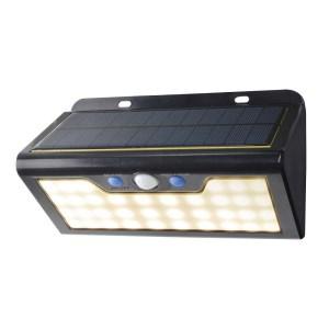 [№5696-3416]ソーラー発電式ウォールライト 電球色