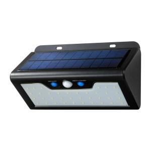 [№5696-3417]ソーラー発電式ウォールライト 白色