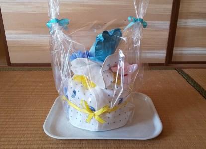 015_001 オムツケーキ Sサイズ