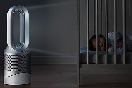 ダイソン dyson hot+cool link 空気清浄機能付ファンヒーター(ホワイト/シルバー)HP03WS