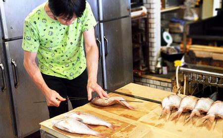明石産 天然鯛の姿焼(7)