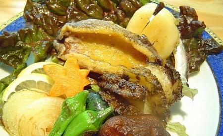 B072*淡路産天然活きアワビ(赤・黒)食べ比べセット