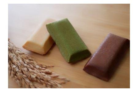 米粉バウムH4cm&米粉はちみつフィナンシェギフト