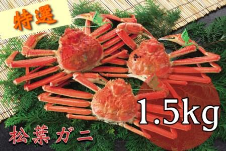 【今が旬】F-5 特選茹で松葉がに【茹でたての美味しさ冷蔵発送】   「30,000P」