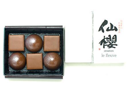 le fleuve 幻の銘酒「仙櫻」の日本酒ショコラBOX