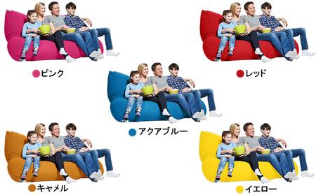 【2021年7月下旬以降順次発送】Yogibo Double(ヨギボーダブル) ライトグレー
