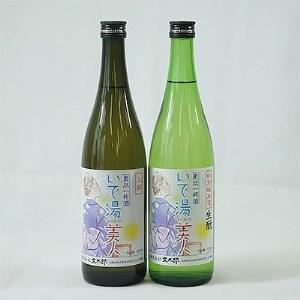 [新温泉町の地酒]いで湯美人「特別純米酒生もと/上撰」セット(720ml×2本)【1084062】