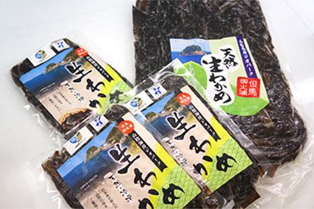 【10-010】【新温泉町三尾産】天然生わかめ