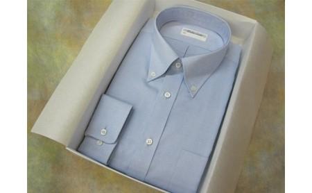 オーダーワイシャツBP -黒蝶貝の貝ボタンを使用-
