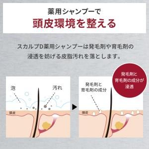 スカルプD 薬用スカルプシャンプー オイリー [脂性肌用] 3本セット