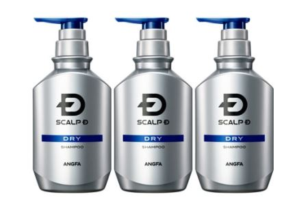 スカルプD 薬用スカルプシャンプー ドライ [乾燥肌用] 3本セット