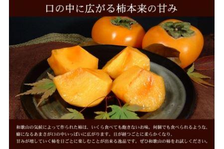 和歌山の種なし柿 約7.5kg(秀品:サイズ・品種おまかせ)/紀伊国屋文左衛門本舗[2021年9月下旬~順次発送]