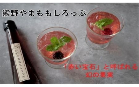幻の果実「山桃」をとじ込めた「熊野やまももしろっぷ」3本セット