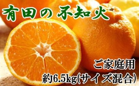 【濃厚】有田の不知火7.5kgご家庭用向け(サイズ混合) 【tec864】