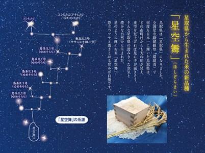 令和3年産・新米 鳥取県産星空舞2kg×3
