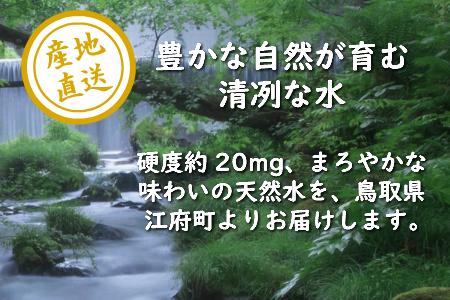 【定期便6回お届け】サントリー天然水(奥大山) 550ml 2箱×6回 計288本(6ヶ月連続発送)ペットボトル 500ミリ+50ml 0371