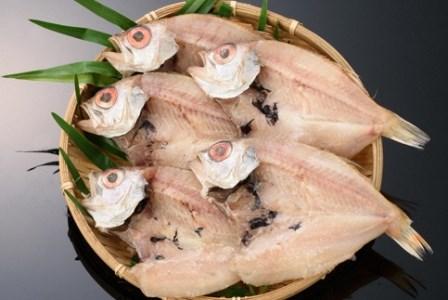 日本海高級魚のどぐろ5尾(しめ縄干支箸付)【1-018】