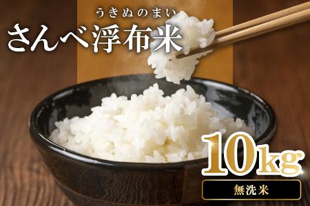 B027 さんべ浮布米(無洗米)(令和元年産)10kg