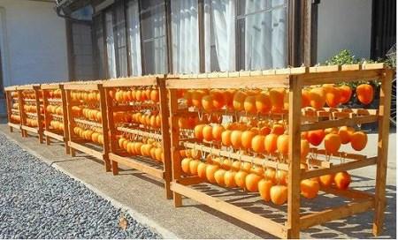 【有機JAS認証】オーガニック西条柿で作った生干し柿+つるし柿セット
